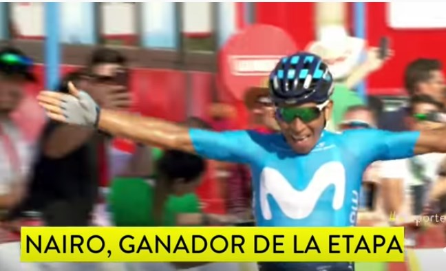 Photo of ¡A  NAIRO QUITANA LE SALIÓ BIEN LA VUELTA EN ESPAÑA!
