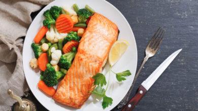 Photo of Comer pescado y verduras